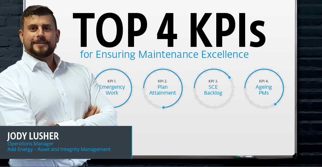 The top 4 KPIs for ensuring maintenance excellence